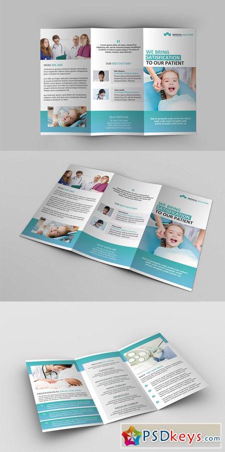 Medical Tri-Fold Brochure 2903315
