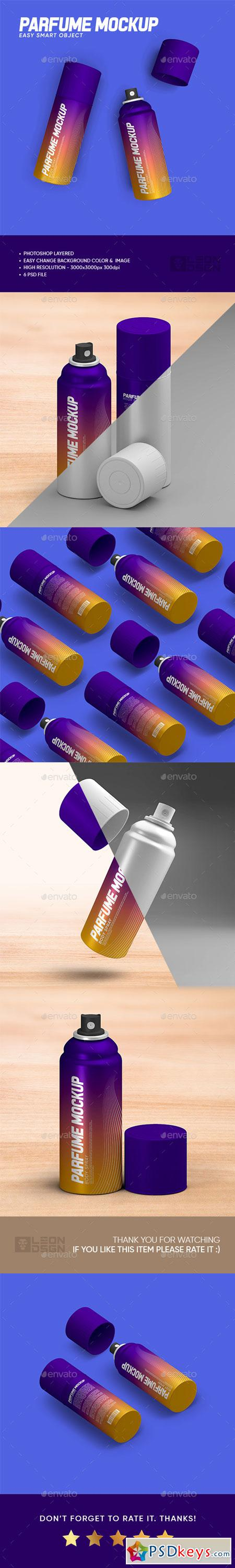 Perfume Bottle Mock-up 22734274