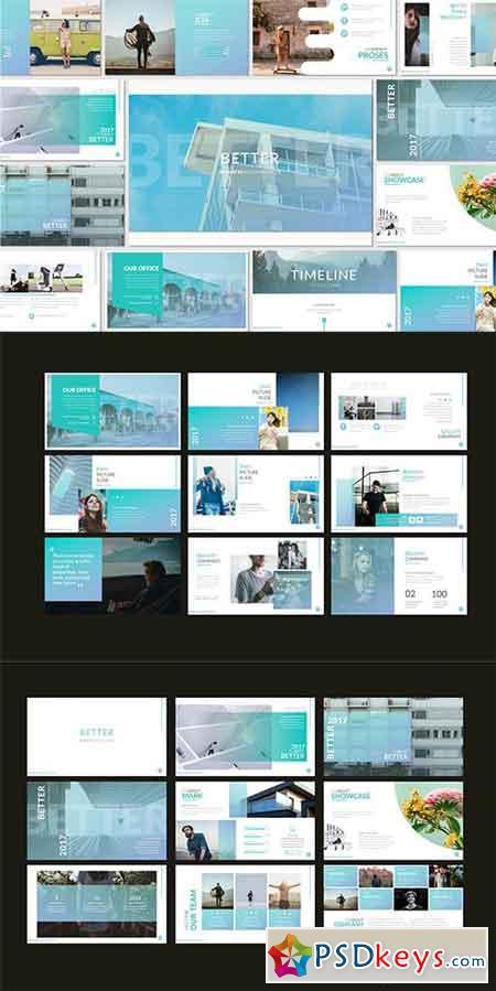 Better Business Presentation, Keynote, Google Sliders