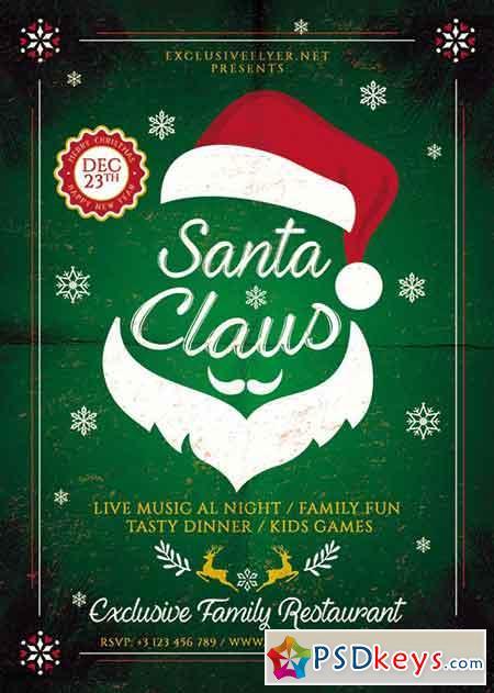 Santa Claus - Seasonal Flyer Template