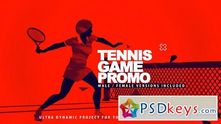 Tennis Game Promo 22811902 After Effects Template