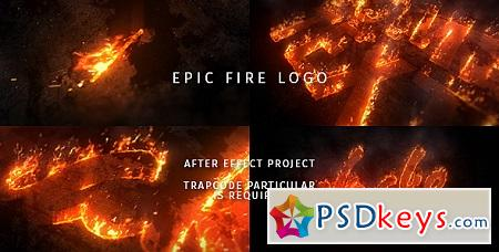 Epic Fire Logo 20431154 After Effects Template