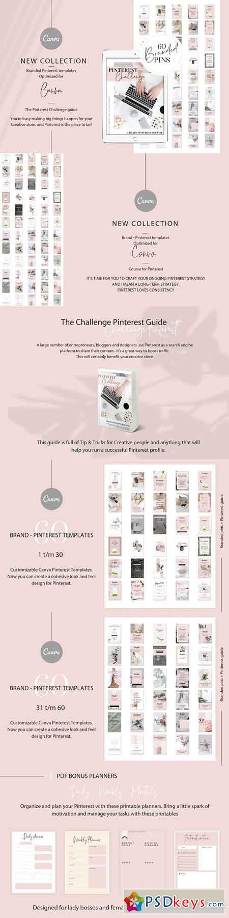 Branded pins + Pinterest guide 3118017