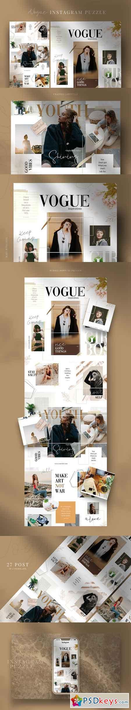 Vogue - instagram puzzle 3125793
