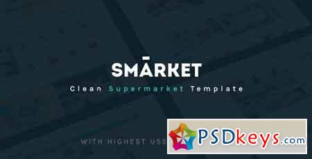 SMarket Ecommerce PSD Template 18977119