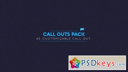 Pond5 Call Out Pack 094951955 After Effects Template