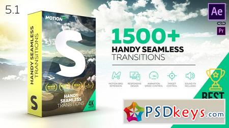 Videohive Transitions V5.1 18967340 After Effects Template