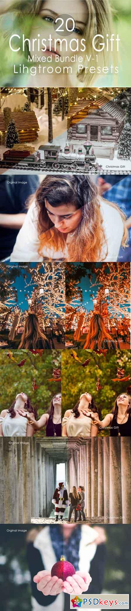 Christmas Gift Mixed v-1 Lightroom Presets 3502494
