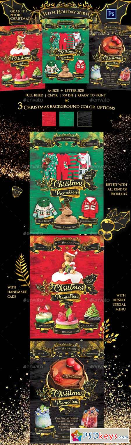 Christmas Promotion Flyer Template 22761101
