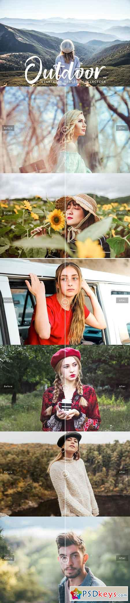 Outdoor Lightroom Presets Collection 3132576