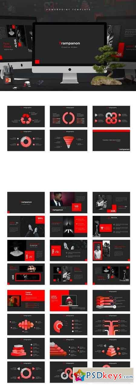 Trampanon - Powerpoint, Keynote, Google Sliders Templates