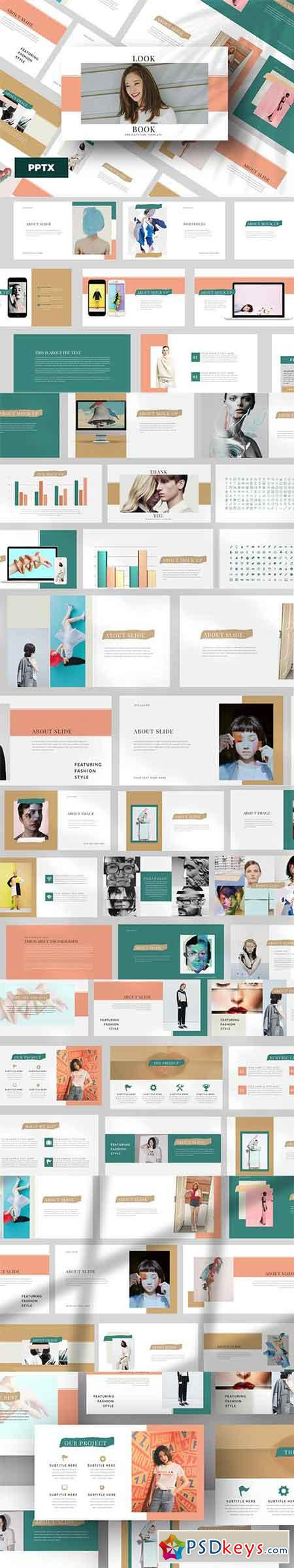 Lookbook Powerpoint and Keynote Templates