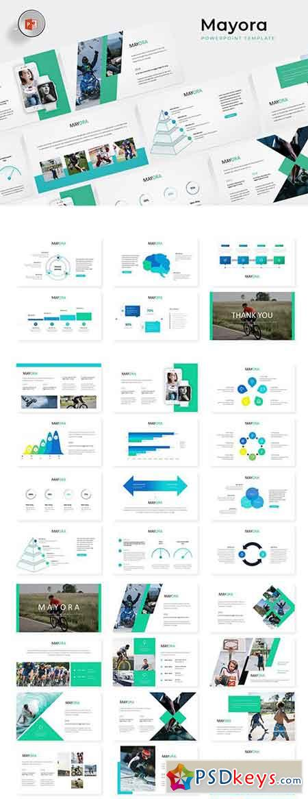 Mayora - Powerpoint, Keynote and Google Sliders Templates