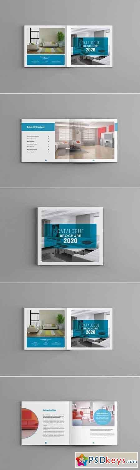 Famella - Square Catalogue Brochure Template