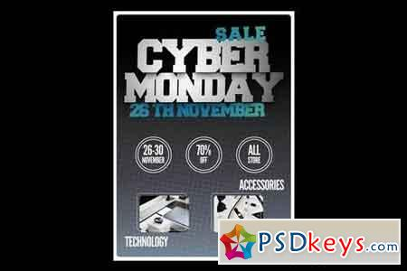 Cyber Monday Flyer Poster