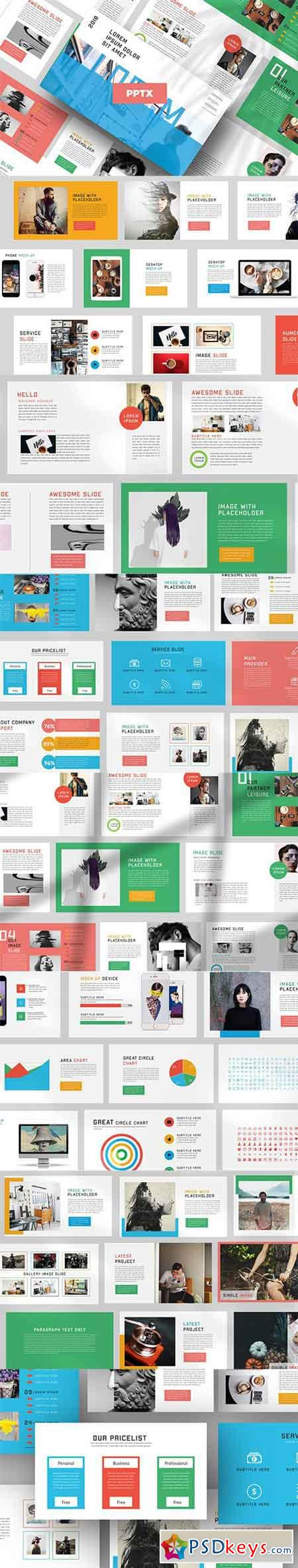 Lorem Modern Powerpoint and Keynote Templates