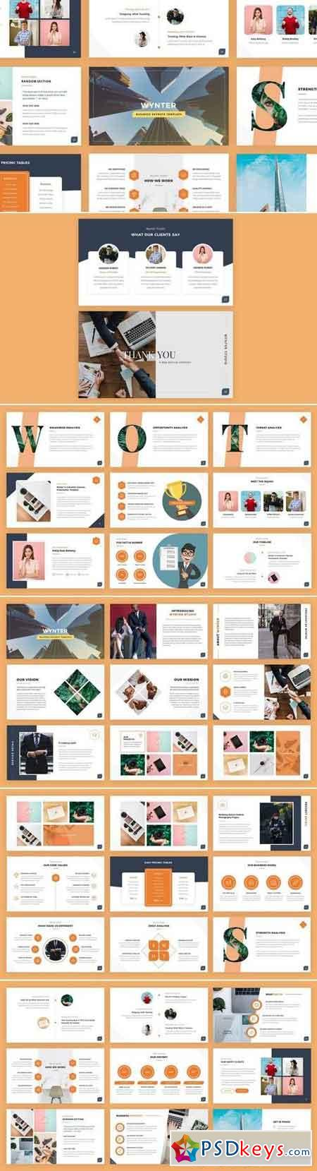 Wynter - Business Keynote Presentation Template