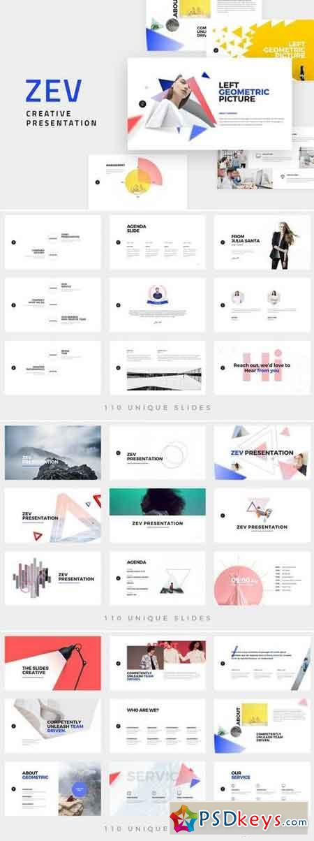 ZEV - Powerpoint and Keynote Template