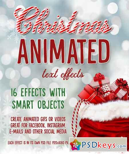 Christmas Animated Text Effects 22740532