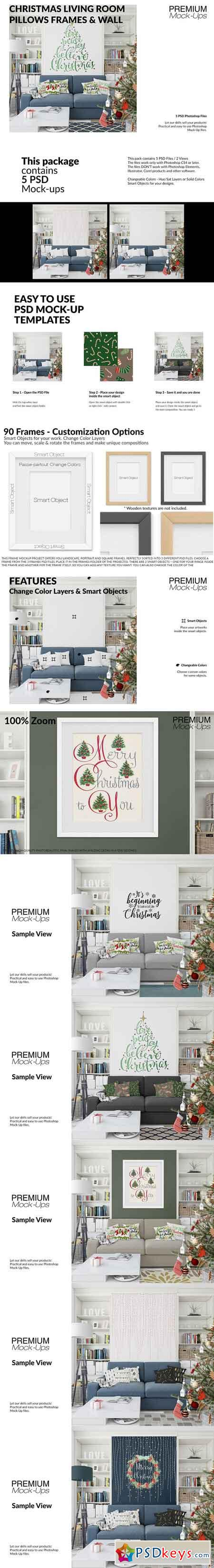 Christmas Living Room Set 3096663
