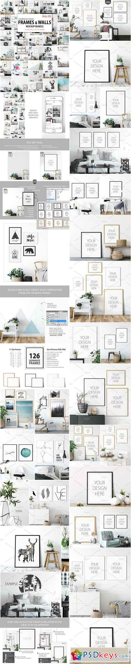 Frames & Walls Scandinavian Bundle 2984522