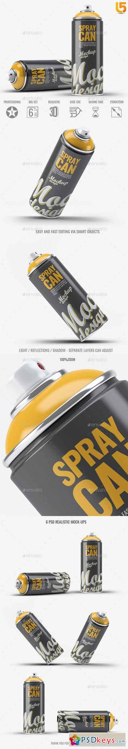 Spray Paint Mock-Up v.1 22817784