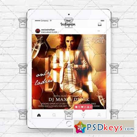Diva Party - Instagram Flyer Template