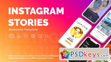 Instagram Stories 22835374 After Effects Template