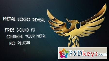 Metal Logo Reveal 18085423 After Effects Template