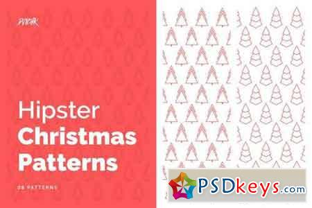 Hipster Christmas Patterns