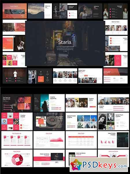 Starla - Powerpoint, Keynote and Google Sliders
