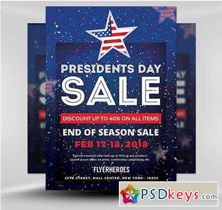 Presidents Day Sale v5