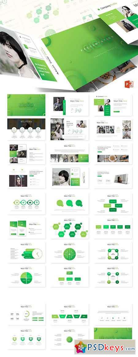 Ciello - Powerpoint, Keynote and Google Sliders Templates