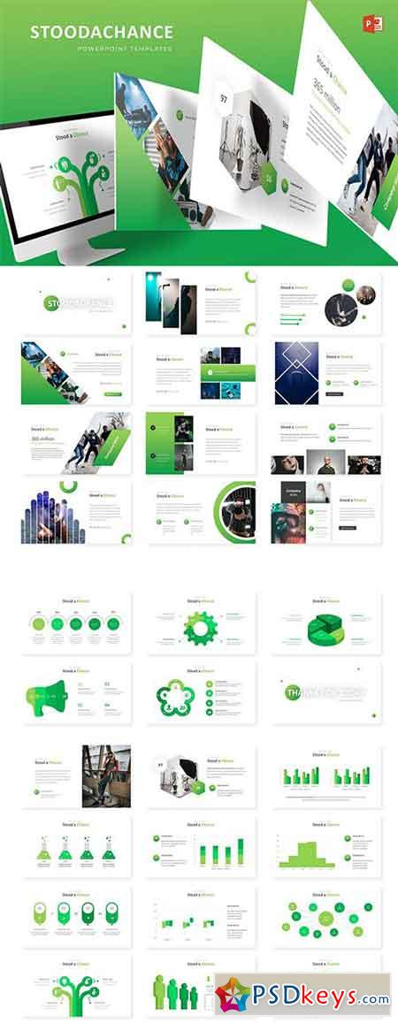 Stoodachance - Powerpoint, Keynote and Google Sliders Templates