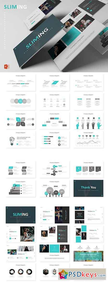 Sliming - Powerpoint, Keynote and Google Sliders Templates
