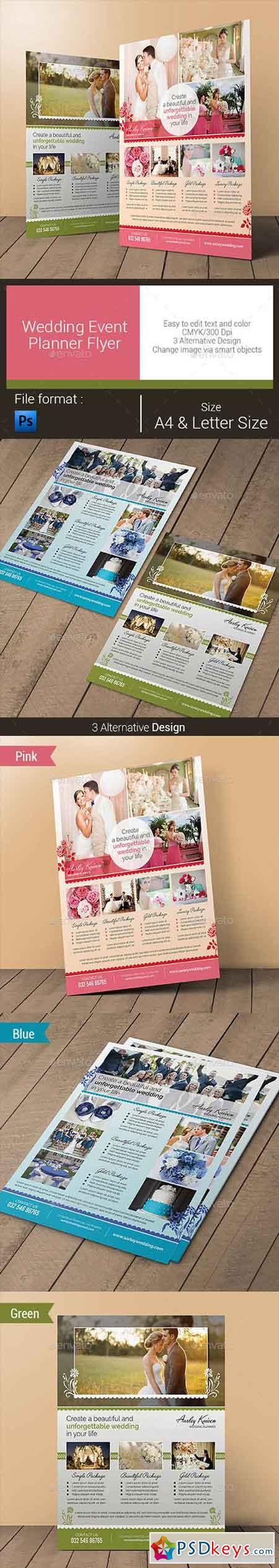 Wedding Event Planner Flyer 10796720