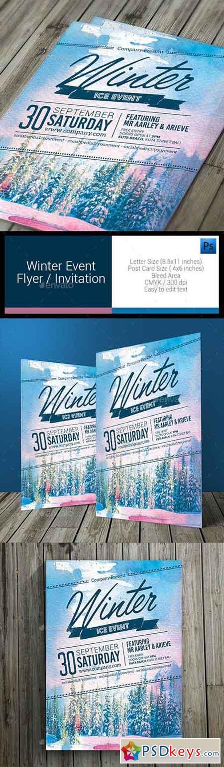 Winter Event Flyer 11085748