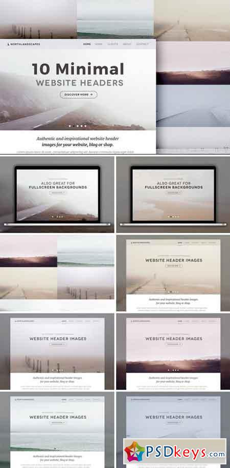 10 Website Header Photos (MINIMAL 1) 693449