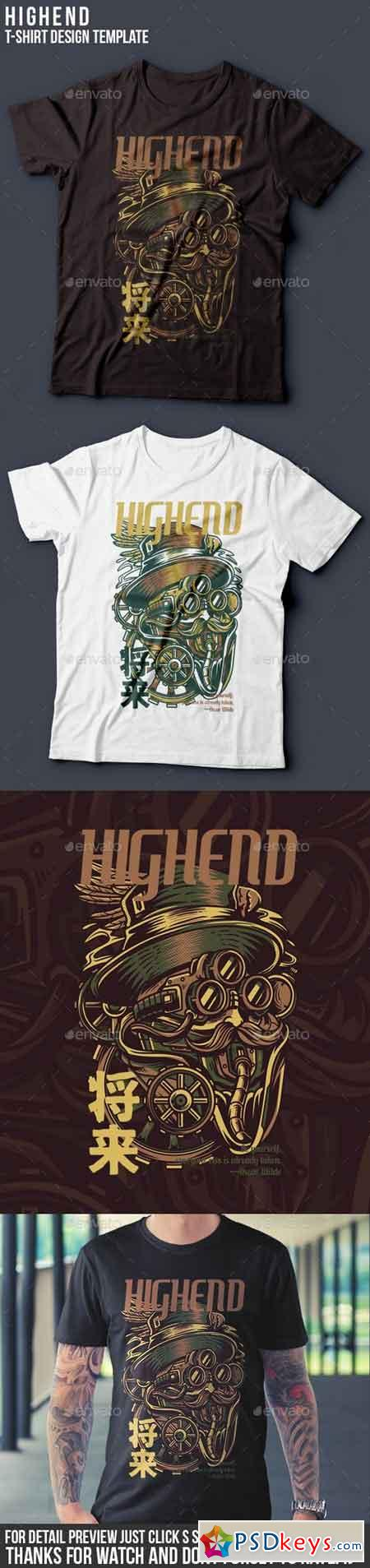 Highend T-Shirt Design 22061797
