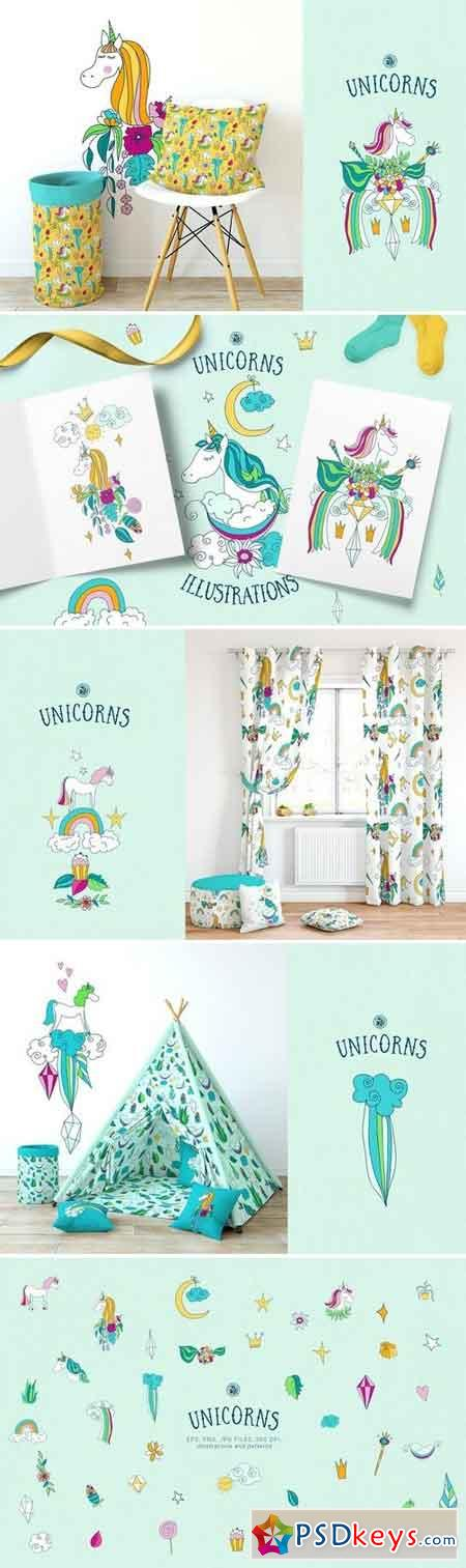 Unicorns Illustrations 2611493