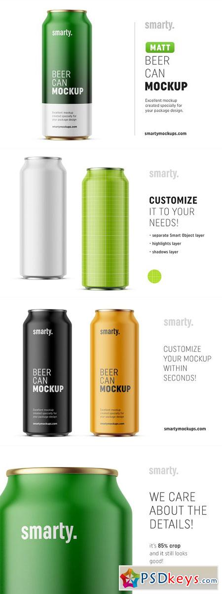 Beer can mockup 3123043