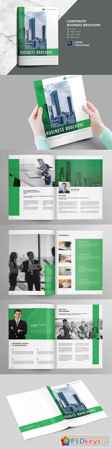 Business Brochure V804 2372279