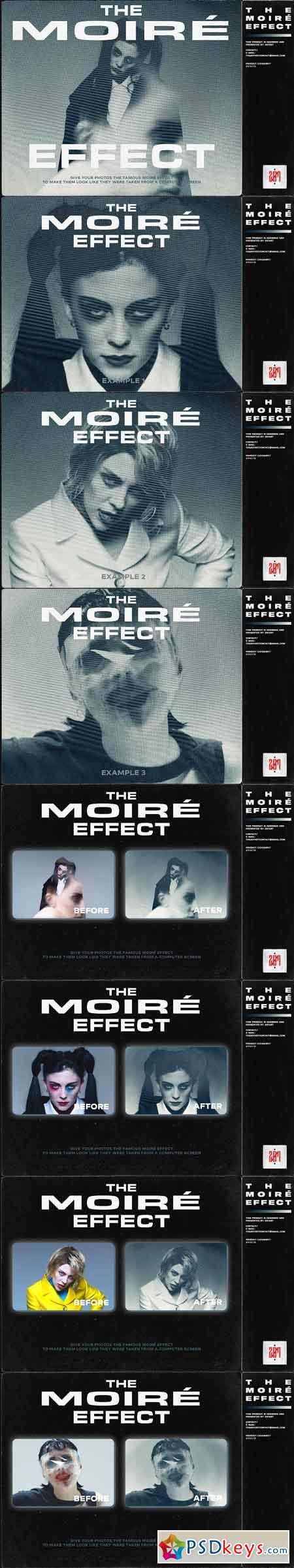 THE MOIRE EFFECT BY 207ART 3113861
