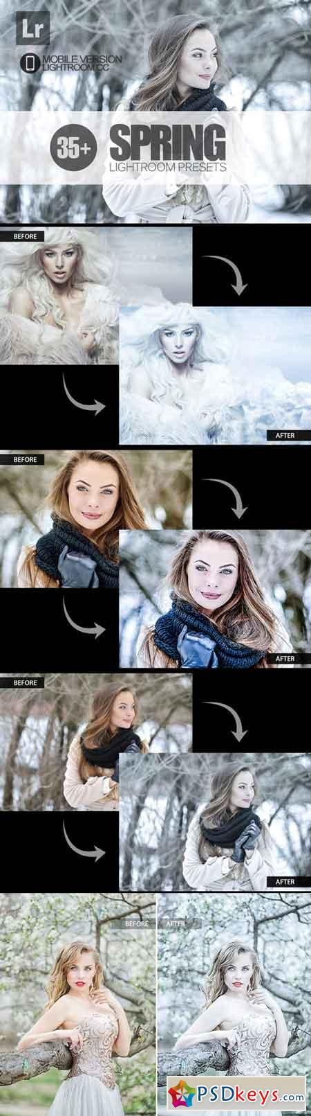 35+ Spring Lightroom Mobile bundle 3504071