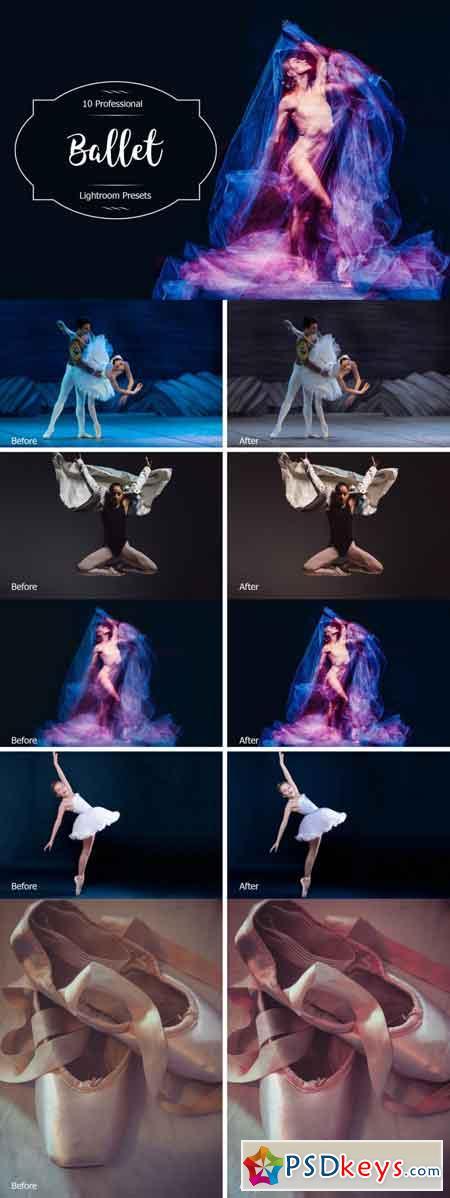 Ballet Lr Presets 3488245