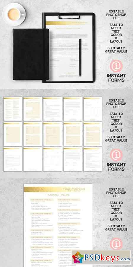 Wedding Planner Contract & Forms 2741551