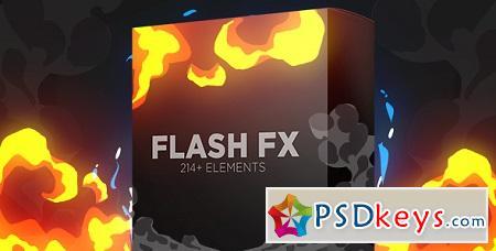 Flash Fx Elements Hand Drawn Bundle Pack 15408048 Motion Graphics