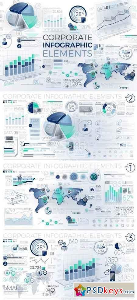 Corporate Infographic Elements
