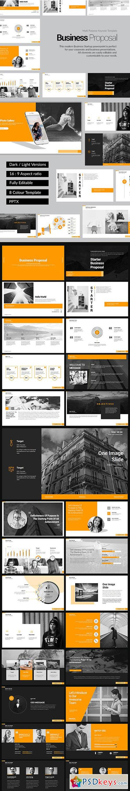 Business Proposal PowerPoint Template 19321690