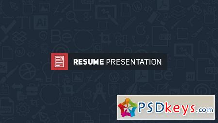 Resume Presentation 15929594 After Effects Template
